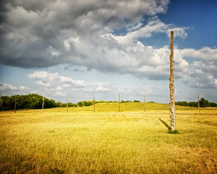 Native American Life: Woodhenge, Cahokia Mounds, Collinsville, St. Clair County, Illinois