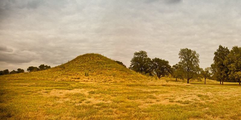 Native American Life: Round Top, Mound 59, Twin Mounds, Cahokia Mounds, Collinsville, St. Clair County, Illinois
