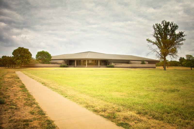 Interpretive Center, Cahokia Mounds, Collinsville, St. Clair County, Illinois