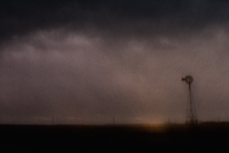 Windmill in Thunderstorm