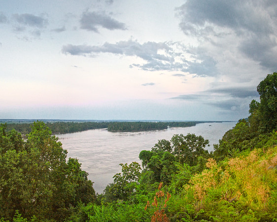 View of the Mississippi River From Cardiff Hill