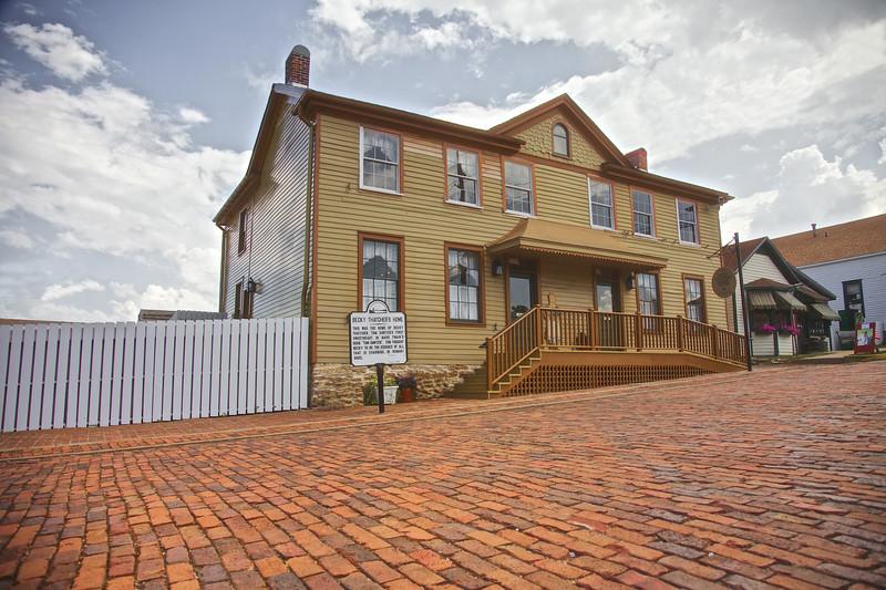 Becky Thatcher's House, Hannibal, MO