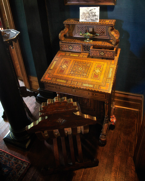 Middle Eastern Desk, Rockcliffe Mansion