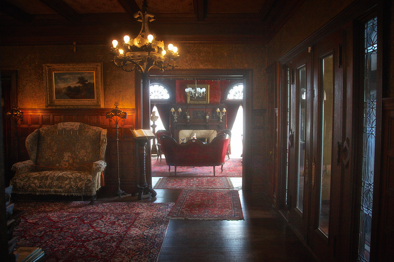 Mr. Cruikshank's Parlor from the Foyer, Rockcliffe Mansion