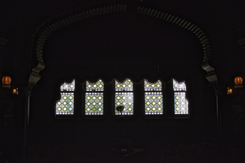 Stained Glass Window, Middle Eastern Room, Rockcliffe Mansion