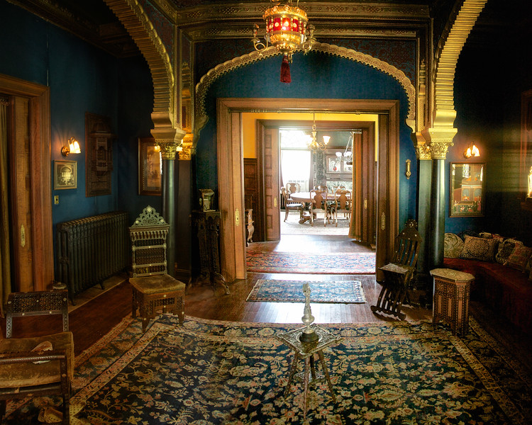 Middle Eastern Room, Rockcliffe Mansion