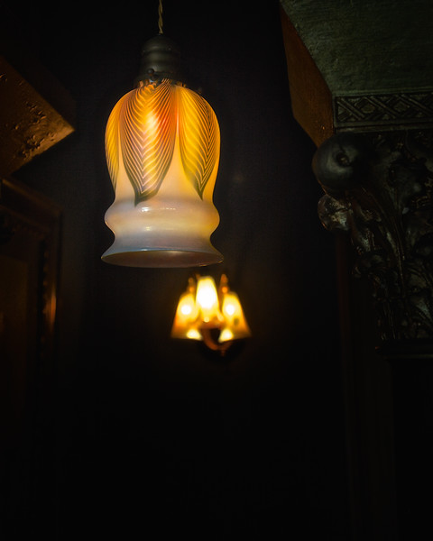 Electric Light Fixtures in Middle Eastern Room, Rockcliffe Mansion