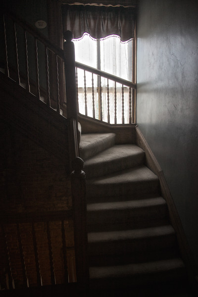 The Bottom of the Servants Staircase