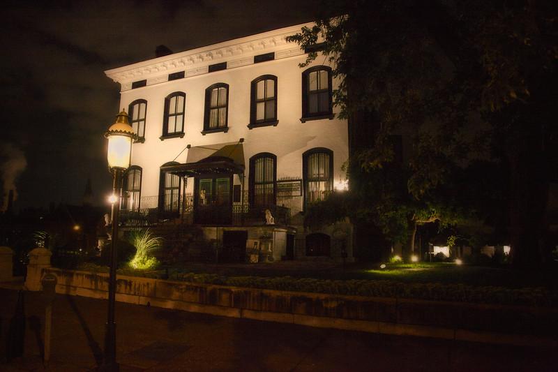 Nighttime Exterior