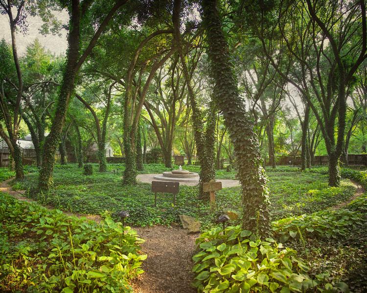 New Harmony Tourism: Carol's Garden, New Harmony, Posey County, Indiana