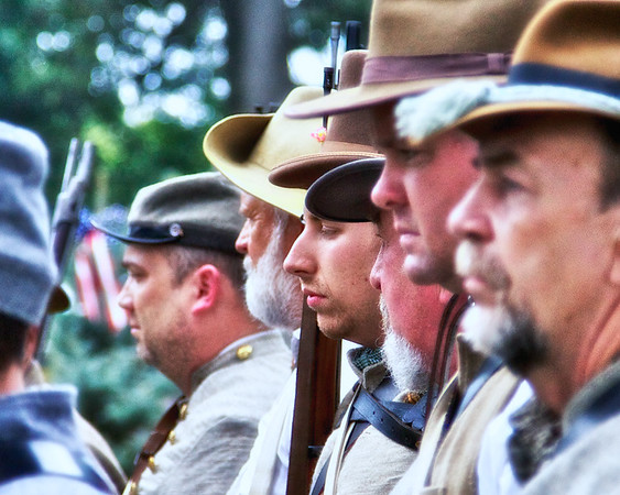 Attention, Princeton Civil War Day, Princeton, Gibson County, Indiana
