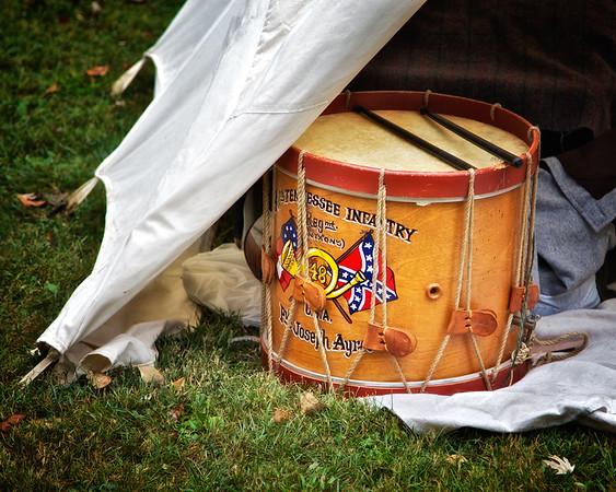 Marching Drum, Princeton Civil War Day, Princeton, Gibson County, Indiana