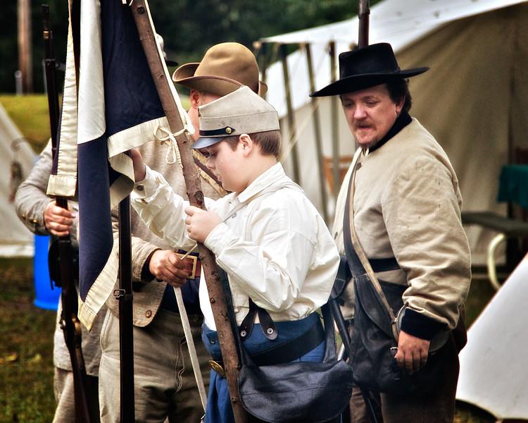 Muster, Princeton Civil War Day, Princeton, Gibson County, Indiana