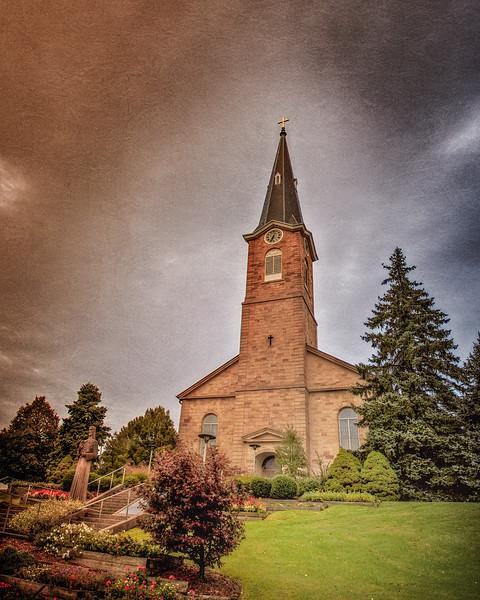 St. Ferdinand Parish Church,  Ferdinand, Spencer County, Indiana