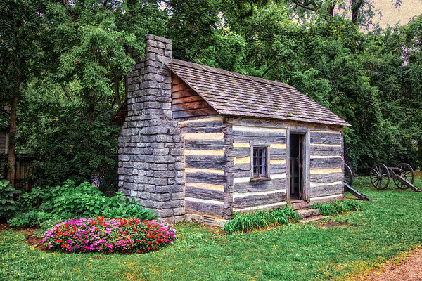 Civil War Battlefields: Carter Smoke House, Battle of Franklin Trust, Franklin, Davidson County, Tennessee