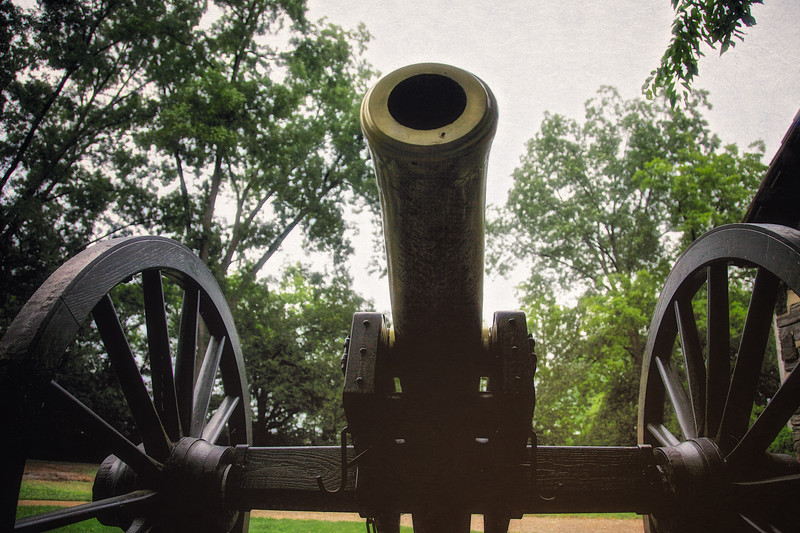 Civil War Battlefields: Union Artillery, Carter House, Battle of Franklin Trust, Franklin, Davidson County, Tennessee