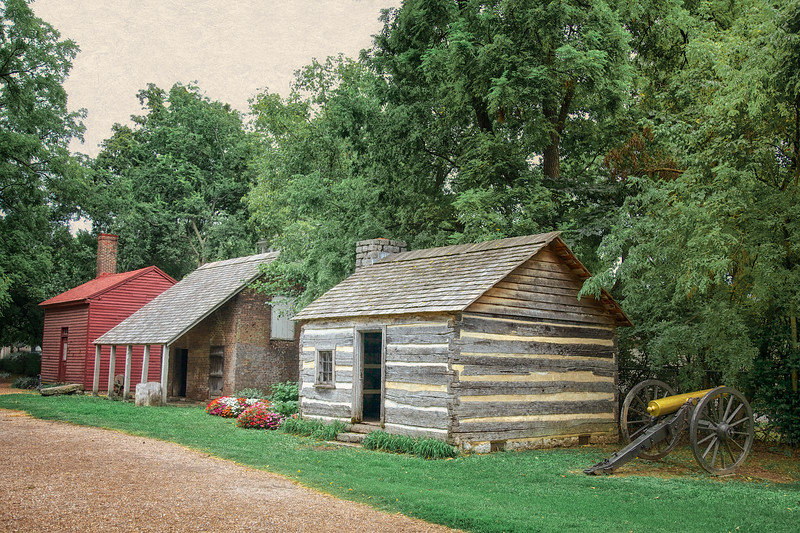 Civil War Battlefields: Carter House Buildings, Battle of Franklin Trust, Franklin, Davidson County, Tennessee