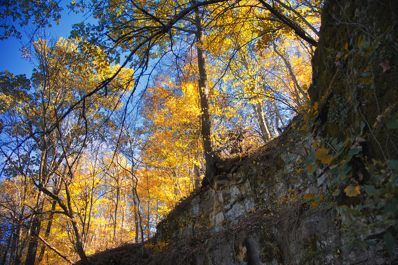 Bluffs Above Bell Witch Cave and Cabin, Adams, Robertson, Tennessee
