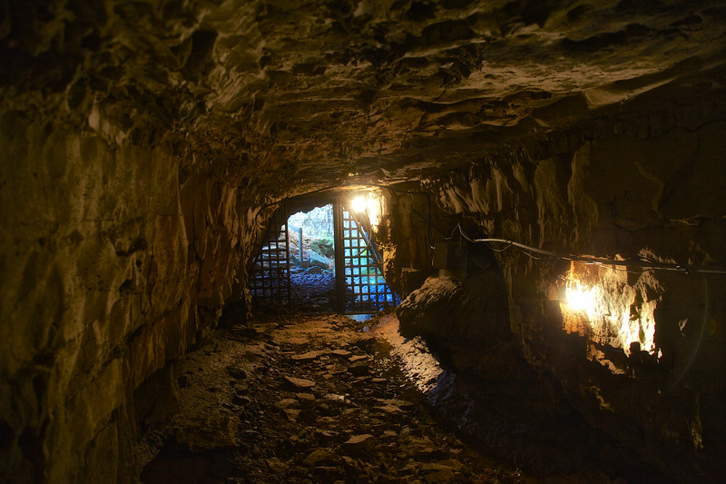 Entrance of Bell Witch Cave Interior, Adams, Robertson, Tennessee