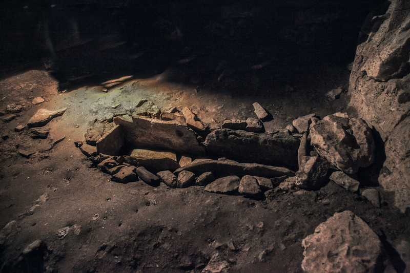 Mississippian Indian Box Grave, Bell Witch Cave and Cabin, Adams, Robertson, Tennessee