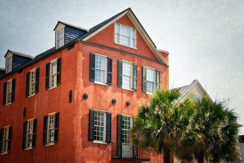 Charleston Landmarks: 95 Broad Street, Peter Bocquet, c 1770, Charleston, South Carolina
