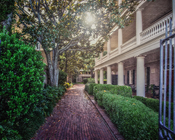Charleston Architecture: Edmondston - Alston House, 21 East Battery, c. 1825, Charleston, South Carolina