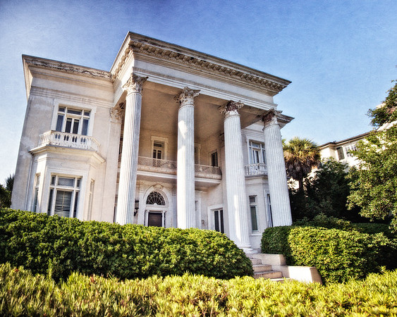 Charleston Architecture: Villa Marguerita, c. 1890, Andrew Simonds, 4 South Battery, Charleston, South Carolina