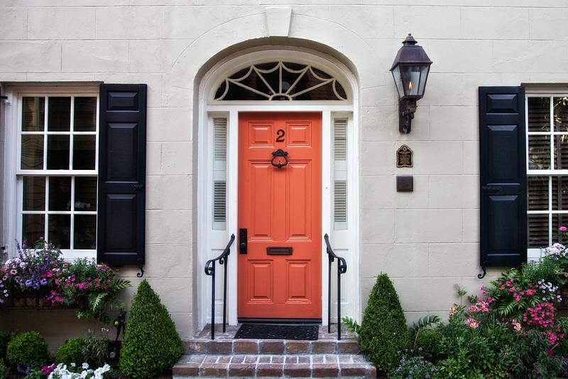 Charleston Architecture: Humphrey Sommers Tenement, c. 1778, 2 Bedons Alley, Charleston, South Carolina