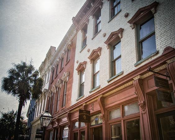 Charleston Landmarks: Blind Tiger Pub, Former Speakeasy, c. 1803, Broad Street, Charleston, South Carolina