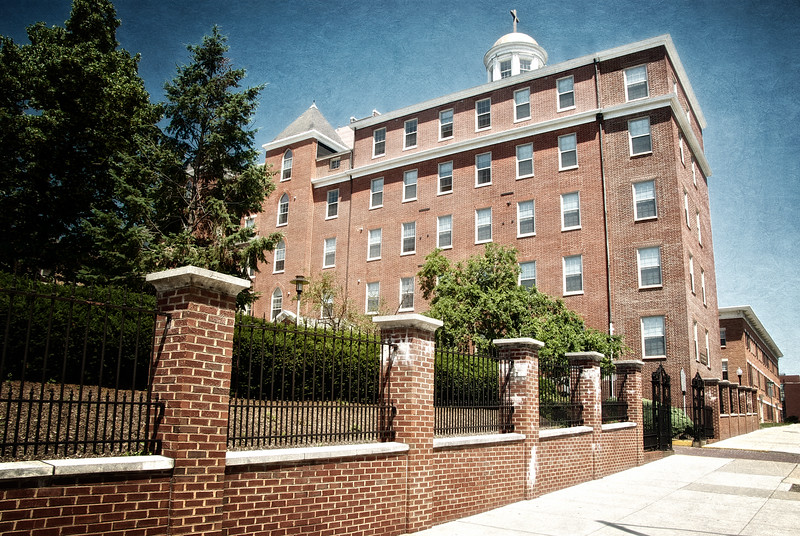 Washington Medical College, where Poe was taken after being found on the streets and where he died a few days later. Baltimore, MD