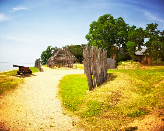 Historic Jamestowne, Jamestown Island, Virginia