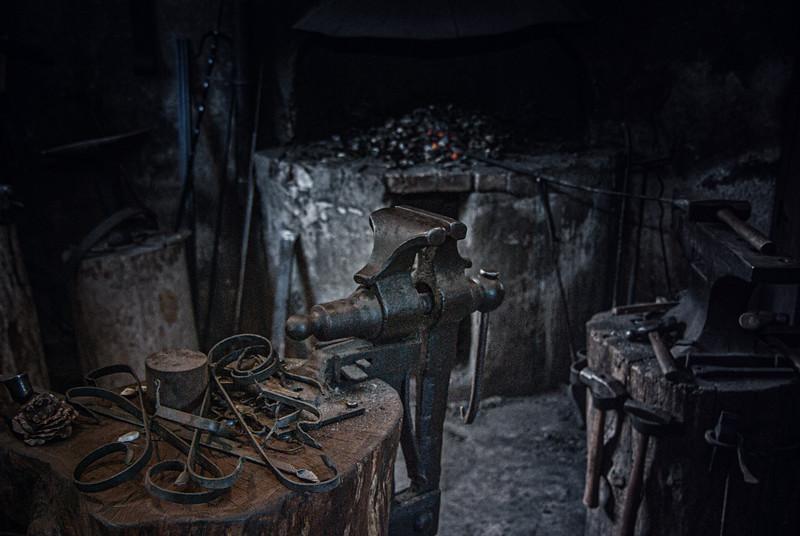 Blacksmith ,Middleton Place National Historic Landmark, Ashley Road, Charleston, South Carolina