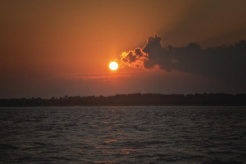 Lowcountry Photos: Sunset at Edisto Beach, Edisto Island, Charleston County, South Carolina