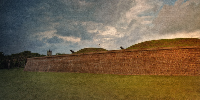 Lowcountry Landmarks: Fort Moultrie, Sullivan's Island, Charleston, South Carolina
