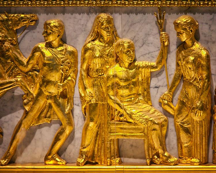 Nashville Landmarks: Frieze from the Athena Parthenos Statue, 1990, Centennial Park, Nashville, Davidson County, Tennessee