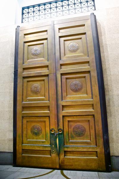Nashville Landmarks: Bronze Doors c. 1897, Centennial Park, Nashville, Davidson County, Tennessee