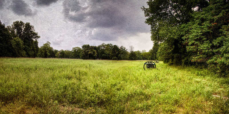 Civil War Battlefields: Site of Sheridan's Stand, Stones River National Battlefield, Murfreesboro, Rutherford County, Tennessee