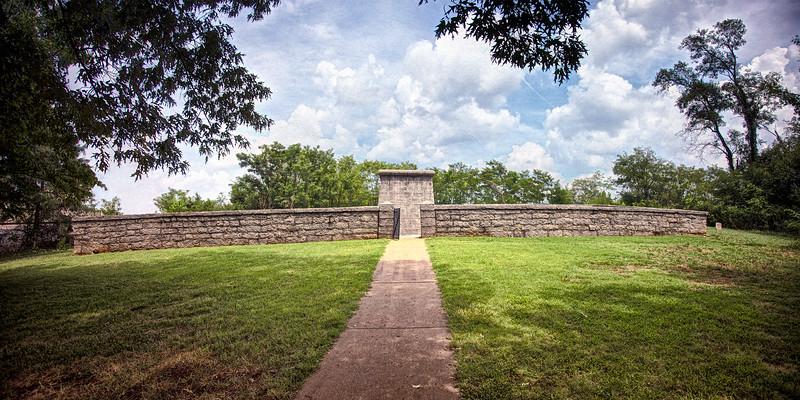 Civil War Battlefields: Hazen Monument, Stones River National Battlefield, Murfreesboro, Rutherford County, Tennessee