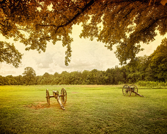 Civil War Battlefields: Battery at Stones River National Battlefield, Murfreesboro, Rutherford County, Tennessee