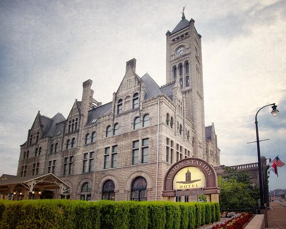 Nashville Landmarks: Union Station Hotel, Nashville, Davidson County, Tennessee