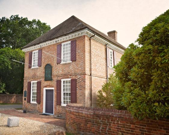 Custom House, c. 1720, Colonial National Historic Park, Yorktown Battlefield, Yorktown, York County, Virginia