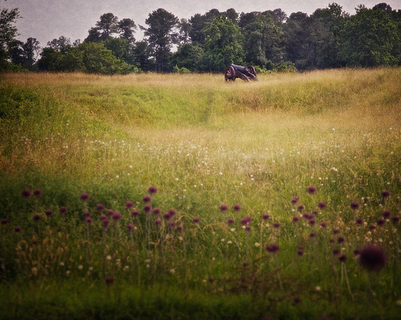Battlefields of the American Revolution: The Hornwork, British Inner Line, Colonial National Historic Park, Yorktown Battlefield, Yorktown, York County, Virginia
