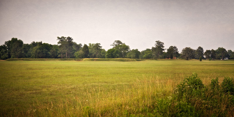 Battlefields of the American Revolution: Second Allied Siege Line, Colonial National Historic Park, Yorktown Battlefield, Yorktown, York County, Virginia