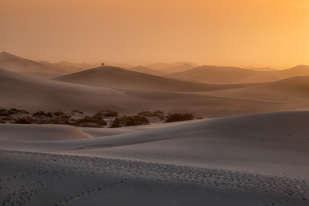 Vinod Kalathil - Death Valley - Undulating Dunes