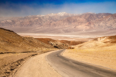 Dust over Badwater