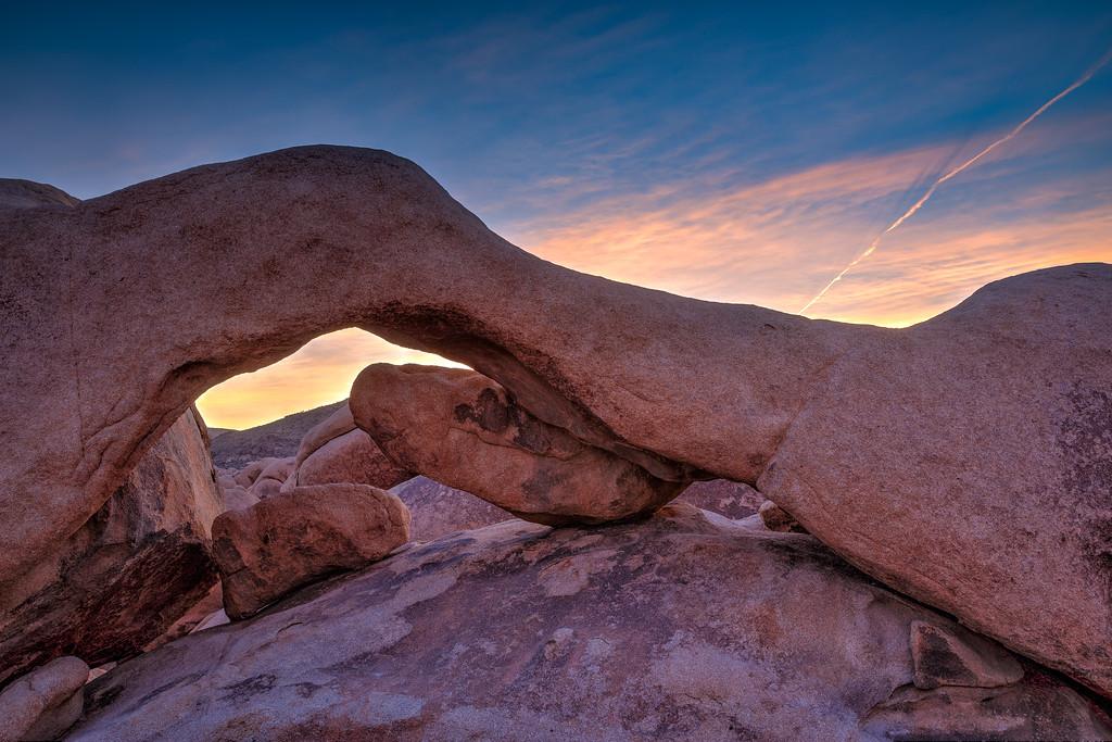 Vinod Kalathil - Joshua Tree National Park - Arch Rock at Sunrise
