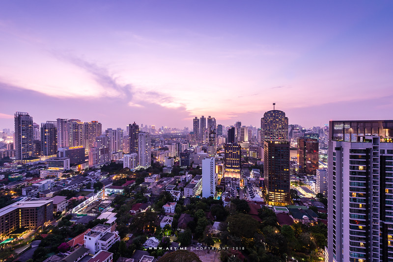 Sukhumvit from above