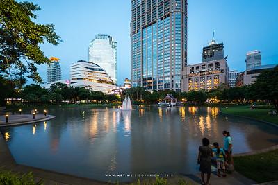 Benjasiri Park, Sukhumvit, Bangkok