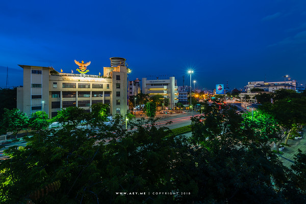 Ratchadamnern Avenue, Bangkok
