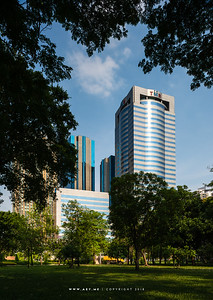 Chatuchak Park and TMB Bank Public Company Limited Head Office